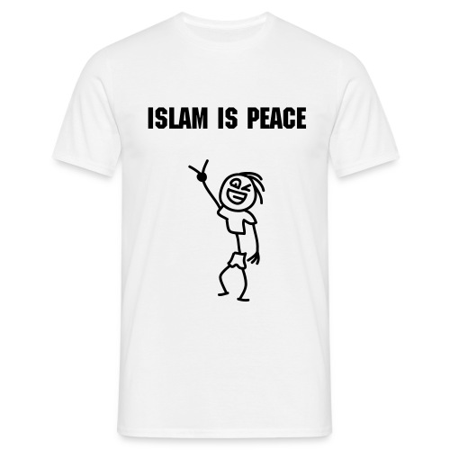 Islam is Peace - Herre-T-shirt