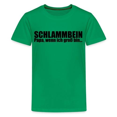 SCHLAMMBEIN 2013 Teenieshirt - Teenager Premium T-Shirt