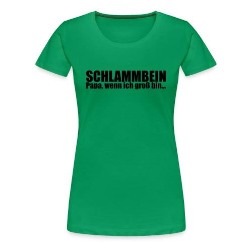 SCHLAMMBEIN 2013 Frauenshirt - Frauen Premium T-Shirt