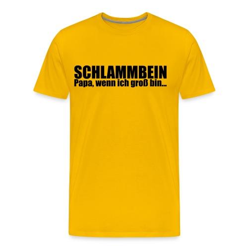 SCHLAMMBEIN 2013 Männershirt - Männer Premium T-Shirt