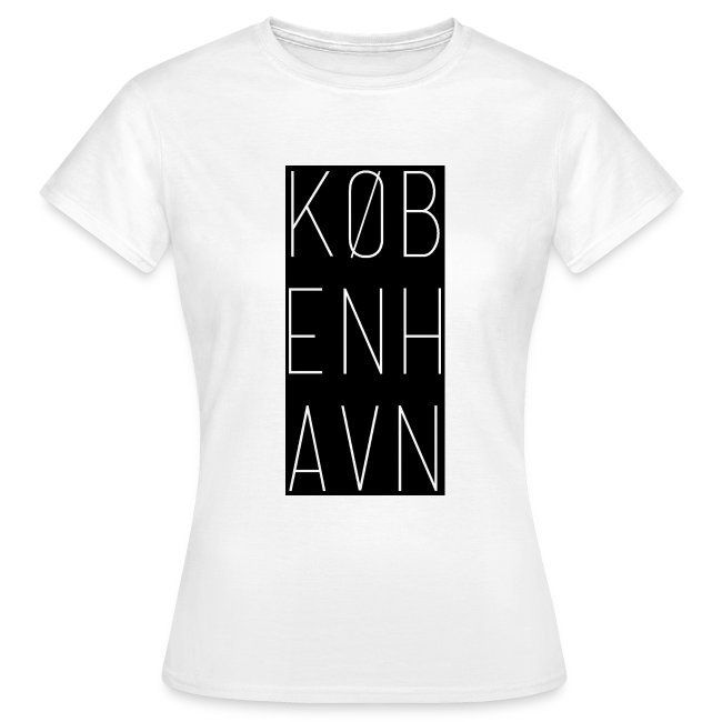 fc889c8173f1 Basic Women T-Shirt København