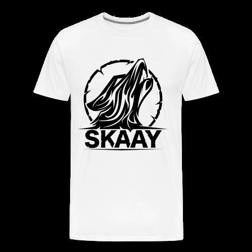 ♂ T-Shirt (1. Skaay Logo Schwarz) - Männer Premium T-Shirt