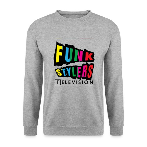 Mens Sweater: Borderless - Colour - Men's Sweatshirt