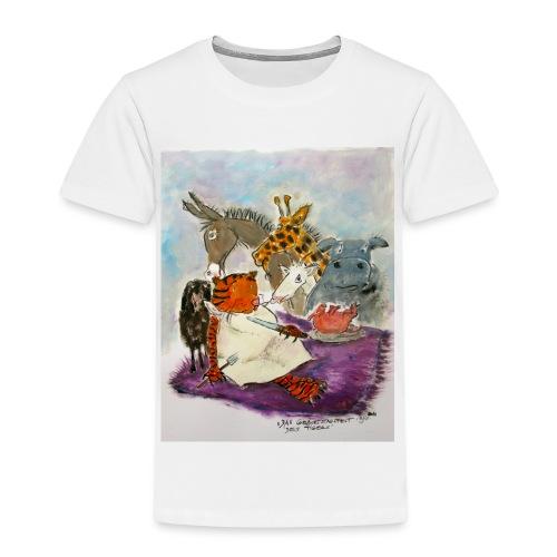 Das geburtstagsfest des Tigers - Kinder Premium T-Shirt