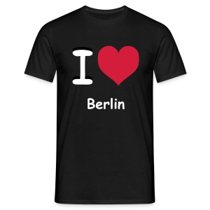 I love Berlin - Mannen T-shirt