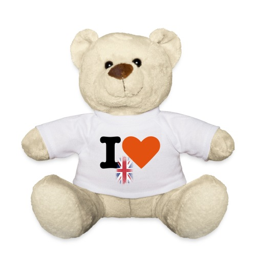 i heart Great Britain - Teddy Bear