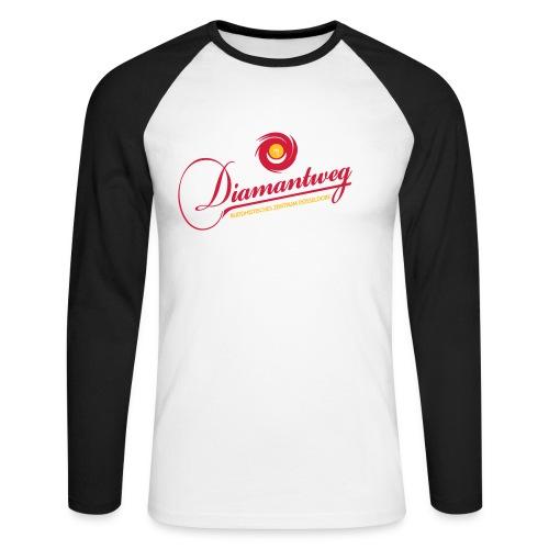 Diamantweg Baseballshirt Longsleeve - Männer Baseballshirt langarm