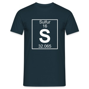Sulfur (S) (element 16) - Full 1 col Shirt - Men's T-Shirt