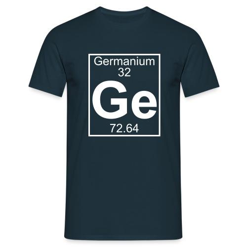 Germanium (Ge) (element 32) - Full 1 col Shirt - Men's T-Shirt