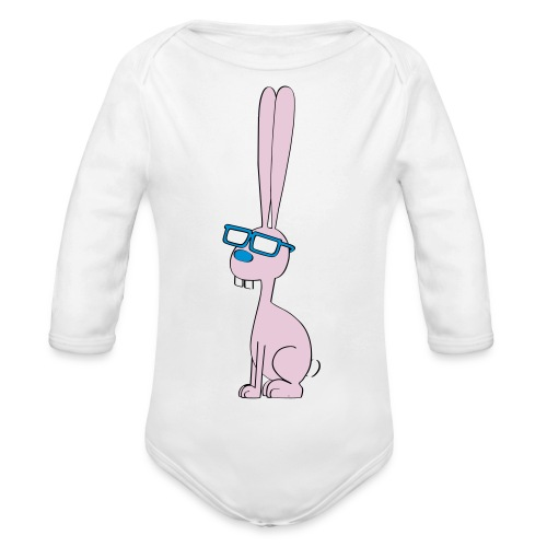 "Baby-Body ""Smart Bunny"" - Baby Bio-Langarm-Body"