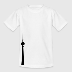 Funkturm 1c T-Shirts - Teenager T-Shirt