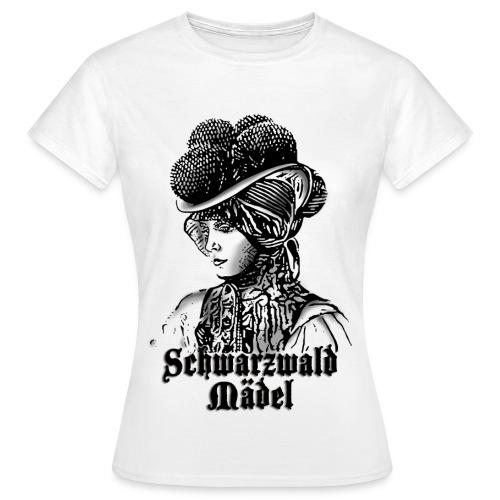 Schwarzwaldmädel (w) - Frauen T-Shirt