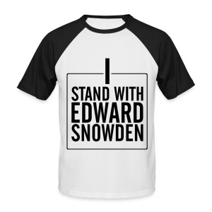 stand2snowdn - Männer Baseball-T-Shirt