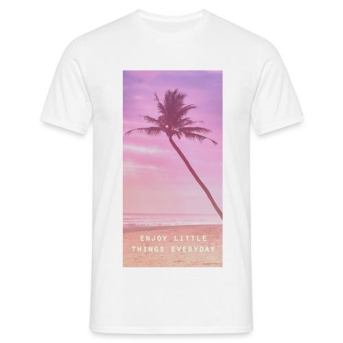 T-shirt enjoy  - T-shirt Homme