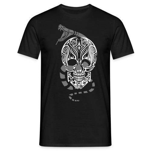 Men's Snake Skull T-Shirt - Men's T-Shirt