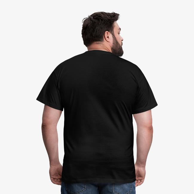 """Men's """"Skull Headphones"""" BLACK T-Shirt"""