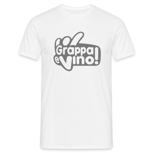 Grappa e vino - Maglietta da uomo