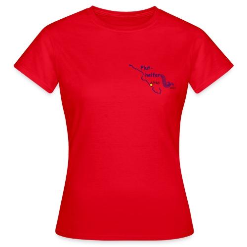 Fluthelfer_weibl_rot - Frauen T-Shirt