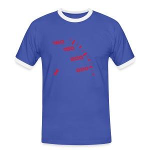 Vauhti t-paita - Miesten kontrastipaita