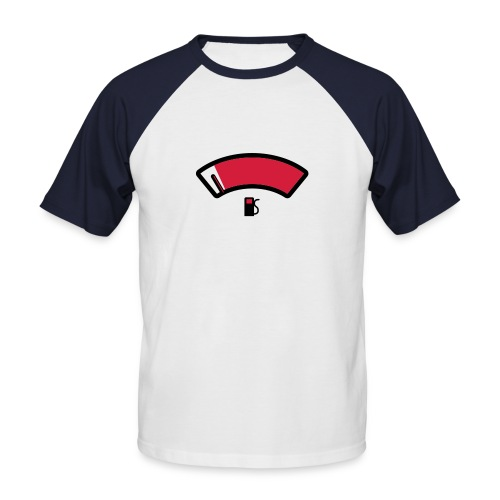 Fuel t-paita - Miesten lyhythihainen baseballpaita