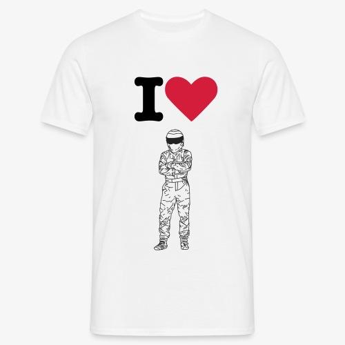 I love the Stig - Men's T-Shirt
