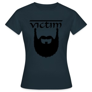 Beardy Victim - Female - Women's T-Shirt