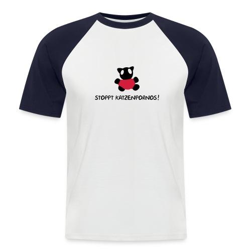Fun T-Shirt No: 2 - Männer Baseball-T-Shirt