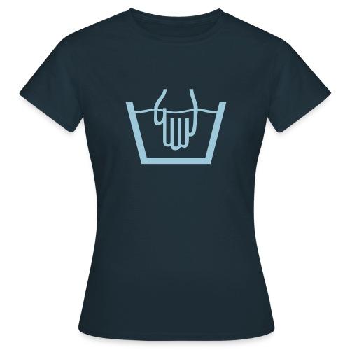 Handwäsche, handwash - Frauen T-Shirt