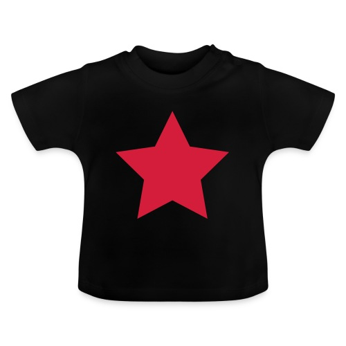 redstar, roter stern - Baby T-Shirt