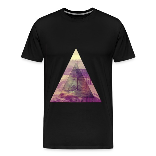 Young Wild And Free T-Shirt *HOT* - Mannen Premium T-shirt