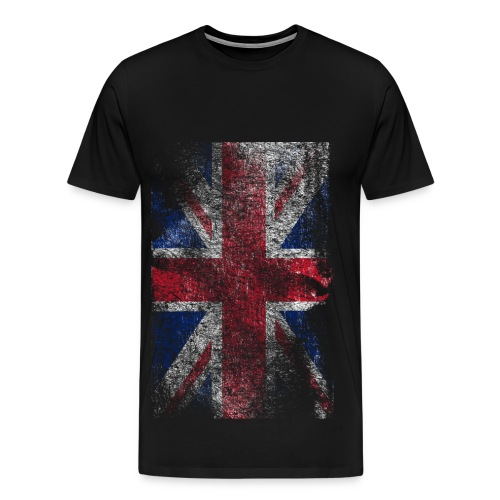 Raw United Kingdom Flag T-Shirt *HOT* - Mannen Premium T-shirt