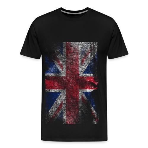 Raw United Kingdom Flag T-Shirt *HOT* - Mannen Premium T-shirt