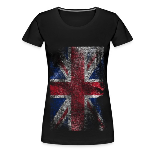 Raw United Kingdom Flag T-Shirt *HOT* - Vrouwen Premium T-shirt