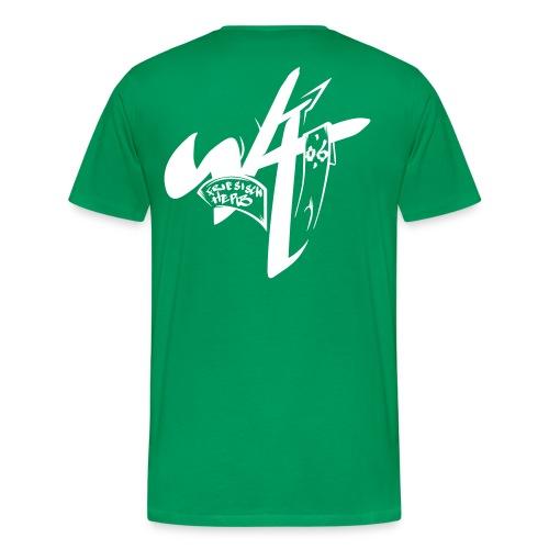 Flaschenpost exclusive Back - Männer Premium T-Shirt