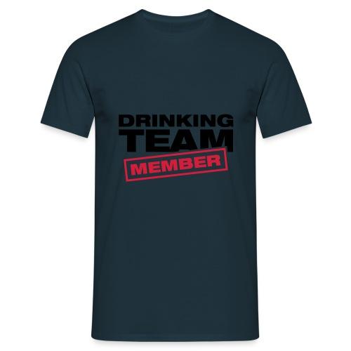 Drinking Team Member (blau) - Männer T-Shirt