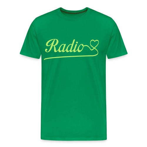 Radio love - Mannen Premium T-shirt