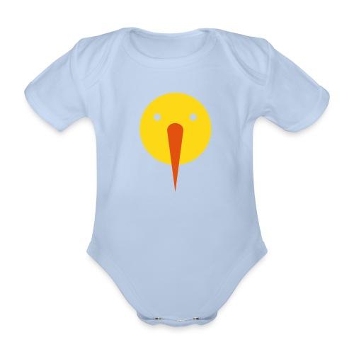 Sunman - Baby bio-rompertje met korte mouwen