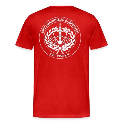 T-Shirt mit Spielmannszug Logo - Männer Premium T-Shirt