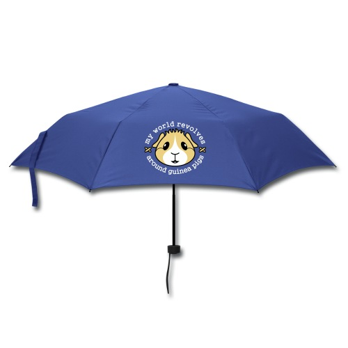 'My World Revolves Around Guinea Pigs' Umbrella - Umbrella (small)