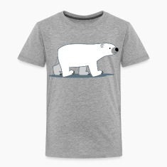 Walking Cartoon Polar Bear - Cheerful Madness!! Shirts