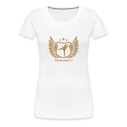 Thai Boxing Girl - Frauen Premium T-Shirt