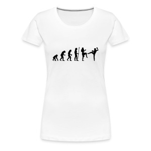 Thai Boxing Girl - Frauen Premium T-Shirt