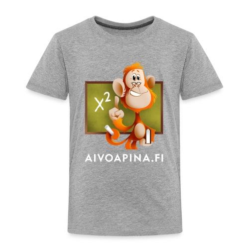 Aivoapina-paita lapselle - Lasten premium t-paita