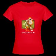 T-paidat ~ Naisten t-paita ~ Aivoapina-paita naiselle