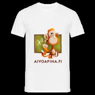 T-paidat ~ Miesten t-paita ~ Aivoapina-paita miehelle
