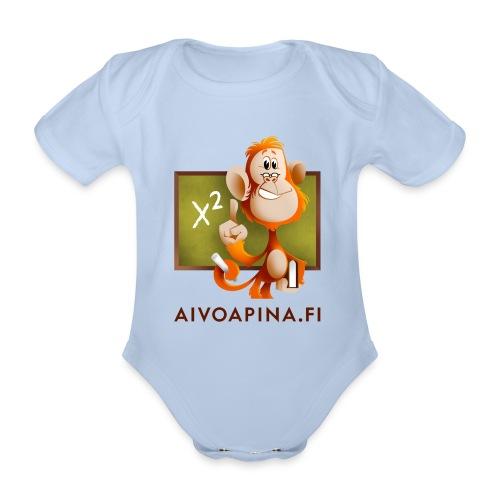 Aivoapina-bodi vauvalle - Vauvan lyhythihainen luomu-body