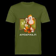T-paidat ~ Miesten luonnonmukainen t-paita ~ Aivoapina-paita miehelle (eko)