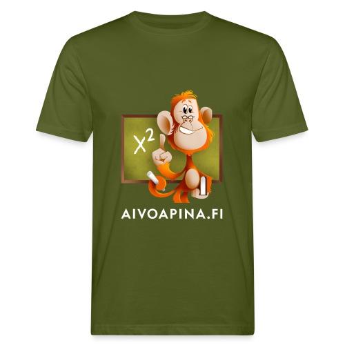 Aivoapina-paita miehelle (eko) - Miesten luonnonmukainen t-paita
