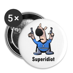superidiot - Buttons large 56 mm
