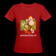 T-paidat ~ Naisten luonnonmukainen t-paita ~ Aivoapina-paita naiselle (eko)